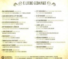 Liederverzeichnis